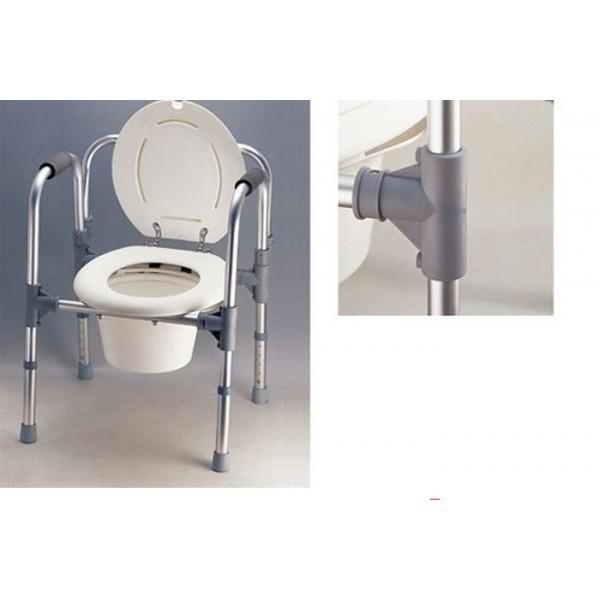 Silla wc o elevador de wc ortop dia avis for Sillas wc para enfermos
