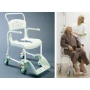 Silla W.C.  y ducha, CLEANING