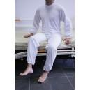 Pijama mono con cremallera en  espalda o en piernas